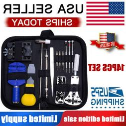 Watch Repair Kit Professional Spring Pin Bar Tool Set With C