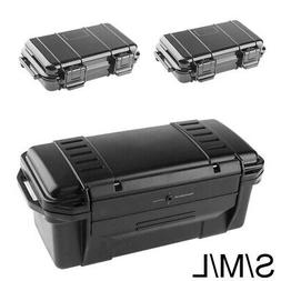 Waterproof Hard Plastic Carry Case Tool Storage Box Portable