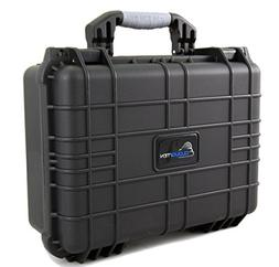 CASEMATIX Waterproof Projector Travel Case For DBPOWER T22 H