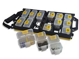 WorkVanEquipment Mobile Hardware Case Tackle Box with Remova