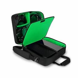 USA Gear Xbox One/Xbox One X Travel Case Carrying Bag for Co