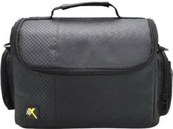 Xit XTCC3 Deluxe Digital Camera/Video Padded Carrying Case L